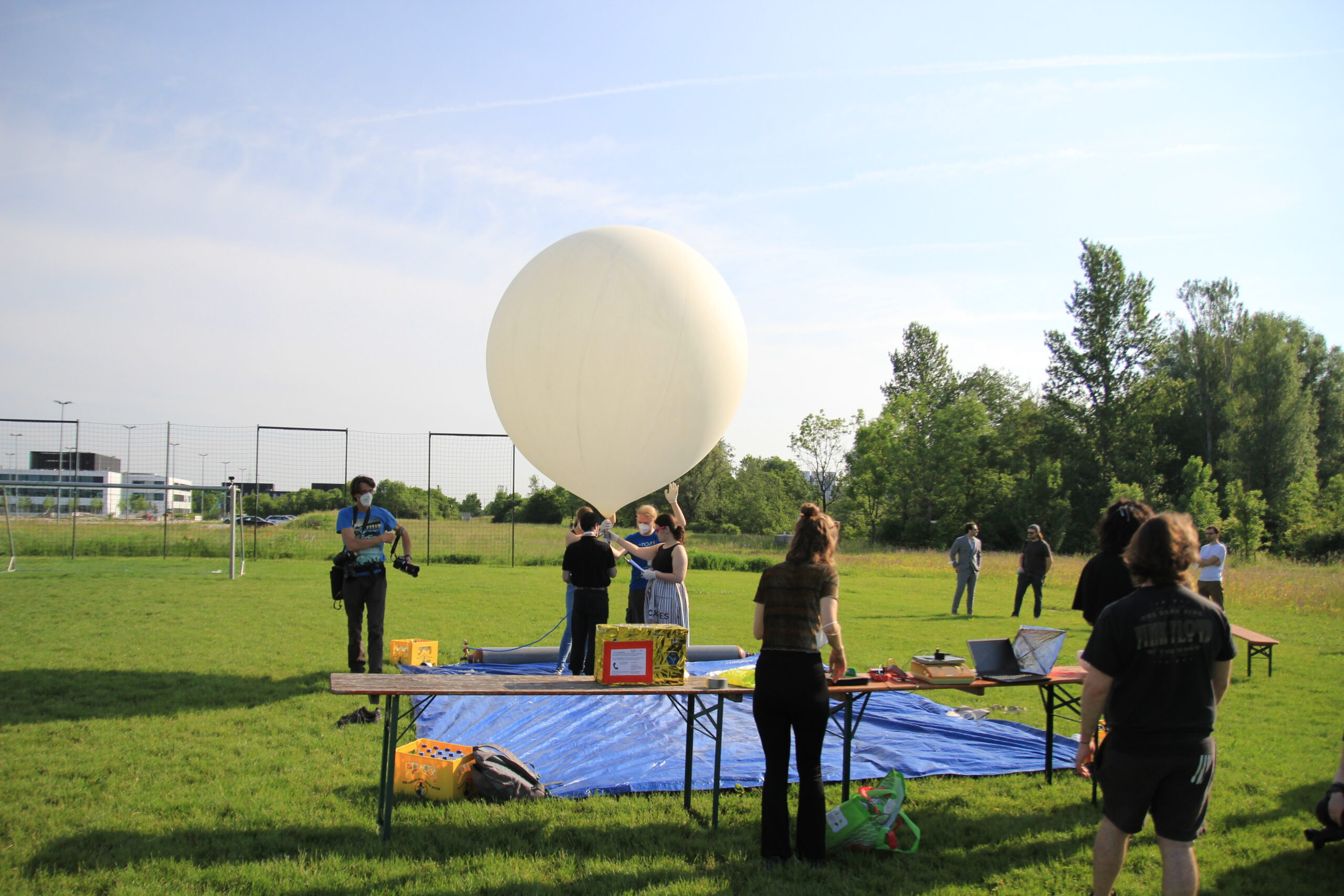 COM Tracker on the first MOVE-III Balloon